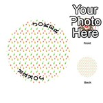 Fruit Pattern Vector Background Playing Cards 54 (Round)  Front - Joker1