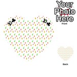 Fruit Pattern Vector Background Playing Cards 54 (Heart)  Front - Club10