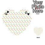 Fruit Pattern Vector Background Playing Cards 54 (Heart)  Front - ClubQ