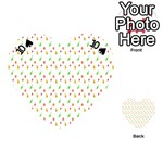 Fruit Pattern Vector Background Playing Cards 54 (Heart)  Front - Spade10