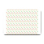 Fruit Pattern Vector Background Small Doormat  24 x16 Door Mat - 1