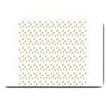 Fruit Pattern Vector Background Large Doormat  30 x20 Door Mat - 1