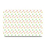 Fruit Pattern Vector Background Plate Mats 18 x12 Plate Mat - 1