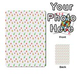 Fruit Pattern Vector Background Multi-purpose Cards (Rectangle)  Back 1