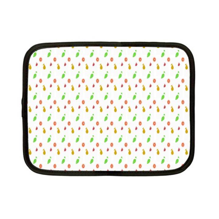 Fruit Pattern Vector Background Netbook Case (Small)