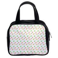 Fruit Pattern Vector Background Classic Handbags (2 Sides)
