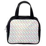 Fruit Pattern Vector Background Classic Handbags (2 Sides) Back