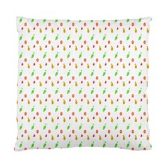 Fruit Pattern Vector Background Standard Cushion Case (Two Sides)