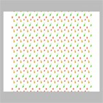 Fruit Pattern Vector Background Canvas 24  x 20  24  x 20  x 0.875  Stretched Canvas