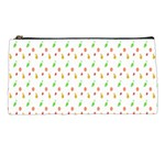 Fruit Pattern Vector Background Pencil Cases Front