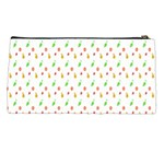 Fruit Pattern Vector Background Pencil Cases Back