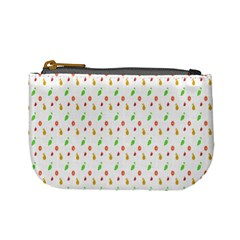 Fruit Pattern Vector Background Mini Coin Purses