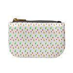 Fruit Pattern Vector Background Mini Coin Purses Front