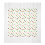 Fruit Pattern Vector Background Shower Curtain 66  x 72  (Large)  58.75 x64.8 Curtain
