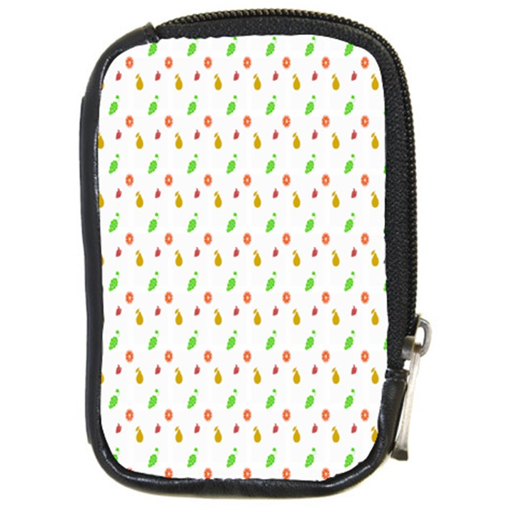Fruit Pattern Vector Background Compact Camera Cases