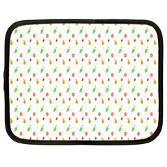 Fruit Pattern Vector Background Netbook Case (XL)
