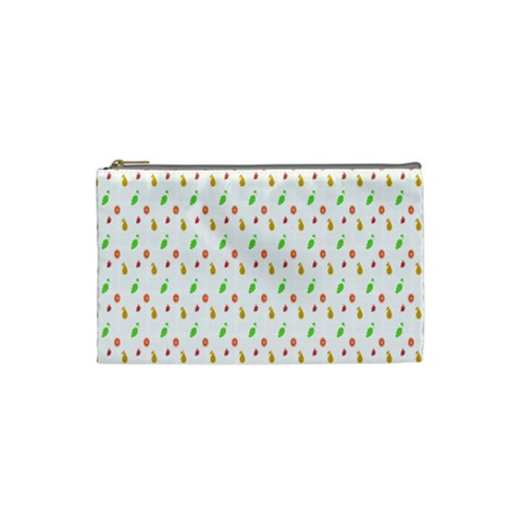 Fruit Pattern Vector Background Cosmetic Bag (Small)