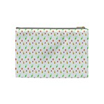 Fruit Pattern Vector Background Cosmetic Bag (Medium)  Back