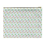 Fruit Pattern Vector Background Cosmetic Bag (XL) Back