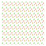 Fruit Pattern Vector Background Small Memo Pads 3.75 x3.75  Memopad