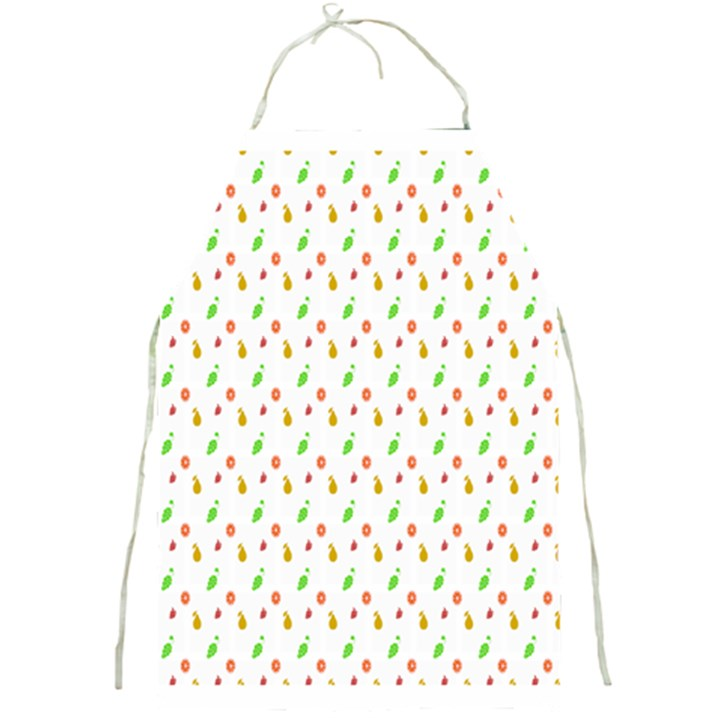Fruit Pattern Vector Background Full Print Aprons