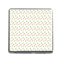 Fruit Pattern Vector Background Memory Card Reader (Square)