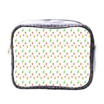 Fruit Pattern Vector Background Mini Toiletries Bags Front