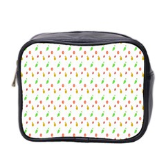 Fruit Pattern Vector Background Mini Toiletries Bag 2-Side