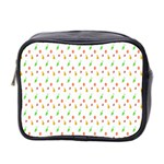 Fruit Pattern Vector Background Mini Toiletries Bag 2-Side Front