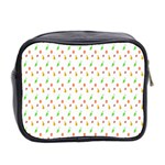 Fruit Pattern Vector Background Mini Toiletries Bag 2-Side Back