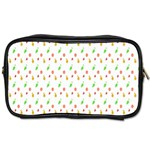 Fruit Pattern Vector Background Toiletries Bags Front