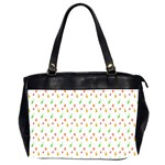 Fruit Pattern Vector Background Office Handbags (2 Sides)  Front
