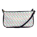 Fruit Pattern Vector Background Shoulder Clutch Bags Front