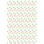 Fruit Pattern Vector Background 5.5  x 8.5  Notebooks Back Cover