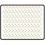 Fruit Pattern Vector Background Fleece Blanket (Medium)  60 x50 Blanket Front