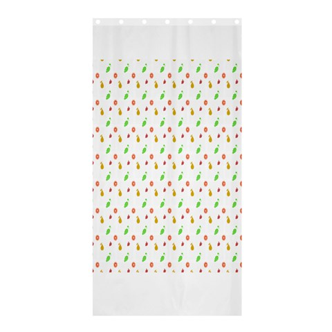 Fruit Pattern Vector Background Shower Curtain 36  x 72  (Stall)