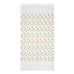 Fruit Pattern Vector Background Shower Curtain 36  x 72  (Stall)  33.26 x66.24 Curtain