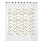 Fruit Pattern Vector Background Shower Curtain 60  x 72  (Medium)  60 x72 Curtain