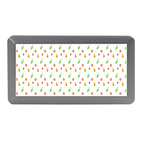Fruit Pattern Vector Background Memory Card Reader (Mini)