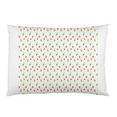 Fruit Pattern Vector Background Pillow Case (Two Sides)