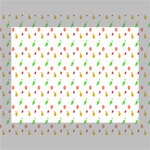 Fruit Pattern Vector Background Deluxe Canvas 16  x 12   16  x 12  x 1.5  Stretched Canvas
