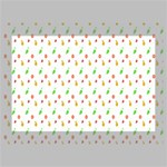 Fruit Pattern Vector Background Deluxe Canvas 18  x 12   18  x 12  x 1.5  Stretched Canvas
