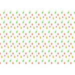 Fruit Pattern Vector Background BOY 3D Greeting Card (7x5) Front