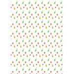 Fruit Pattern Vector Background BOY 3D Greeting Card (7x5) Inside