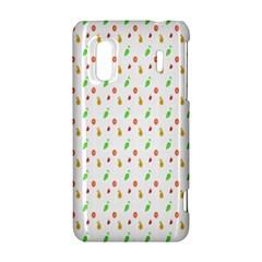 Fruit Pattern Vector Background HTC Evo Design 4G/ Hero S Hardshell Case