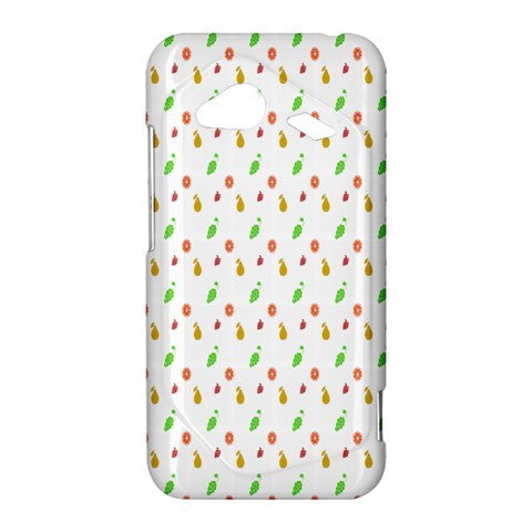 Fruit Pattern Vector Background HTC Droid Incredible 4G LTE Hardshell Case