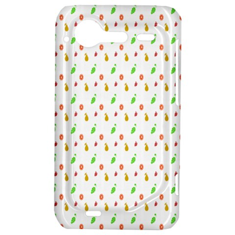 Fruit Pattern Vector Background HTC Incredible S Hardshell Case