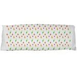 Fruit Pattern Vector Background Body Pillow Case Dakimakura (Two Sides) Back