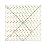 Fruit Pattern Vector Background Acrylic Tangram Puzzle (6  x 6 ) Front
