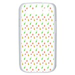 Fruit Pattern Vector Background Samsung Galaxy S III Case (White) Front